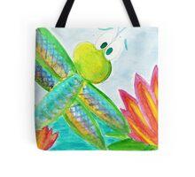 Sunshine Coast Dragonfly Tote Bag