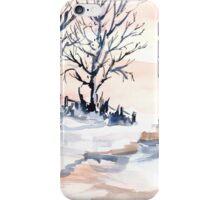 The joy of snow iPhone Case/Skin