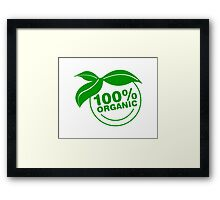 Organically made :P  Framed Print