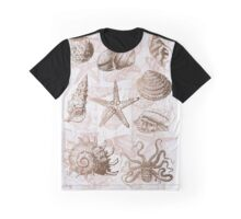 sea shells ocean journey Graphic T-Shirt