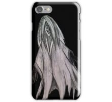 Ghost pencil drawing iPhone Case/Skin