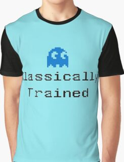 Classically Trained - 80s Computer Gamer T-Shirt Sticker Graphic T-Shirt