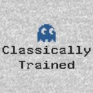 Classically Trained - 80s Computer Gamer T-Shirt Sticker by deanworld