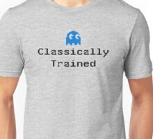 Classically Trained - 80s Computer Gamer T-Shirt Sticker Unisex T-Shirt