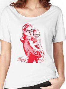 REZEEW : MON & SON Women's Relaxed Fit T-Shirt
