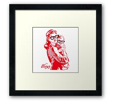 REZEEW : MON & SON Framed Print