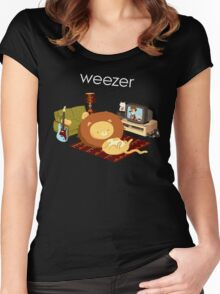REZEEW : HOME LIKE ZOO Women's Fitted Scoop T-Shirt