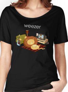 REZEEW : HOME LIKE ZOO Women's Relaxed Fit T-Shirt