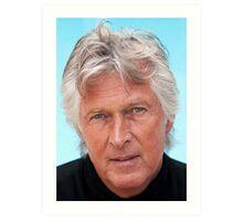 Alan Hydes the Portrait Artist Art Print