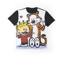 Calvin & Hobbes : Hello There Graphic T-Shirt