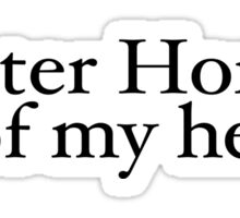 Quarter Horse & all of my heart.  A horse, of course... Sticker
