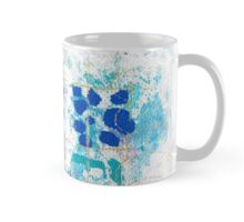 blue flowers in februari Mug