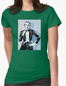 Fred Astaire Portrait Womens Fitted T-Shirt