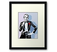 Fred Astaire Portrait Framed Print