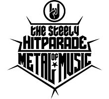 The steely Hitparade of Metal Music 2 (black) Photographic Print