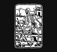 The Death - Old Indian / Asian Tarot Card - black/white Unisex T-Shirt