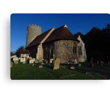 St Gregory & St George, Pentlow Canvas Print