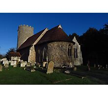 St Gregory & St George, Pentlow Photographic Print