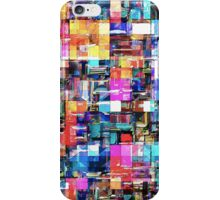 Abstract Chaos of Colors iPhone Case/Skin