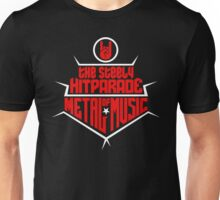 The steely Hitparade of Metal Music 2 (red white) Unisex T-Shirt