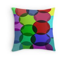 Bubbles Bubbles on the right much bubbles Throw Pillow
