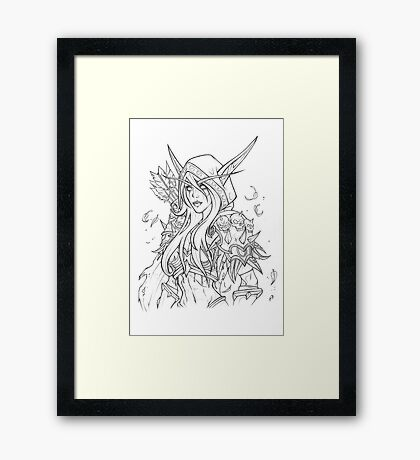 Banshee Elf  Framed Print