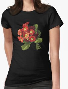 Primrose - acrylic painting on canvas Womens Fitted T-Shirt