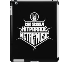 The steely Hitparade of Metal Music 2 (white) iPad Case/Skin