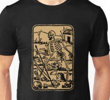 The Death - Old Indian Asian Tarot Card - natural Unisex T-Shirt