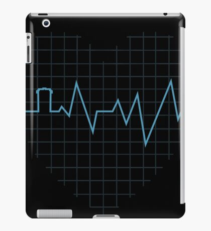 Whovian Heartbeat iPad Case/Skin