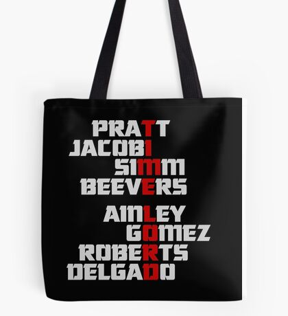 Time Lord: The Master Tote Bag
