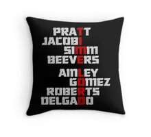 Time Lord: The Master Throw Pillow