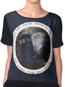 Doctor Who: The Doctors Chiffon Top