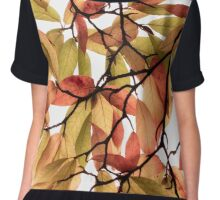 Backlit Colour Chiffon Top