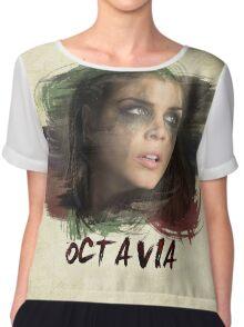 Octavia - The 100 - Brush Chiffon Top