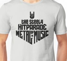 The steely Hitparade of Metal Music No.1 (black) Unisex T-Shirt