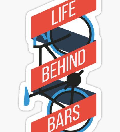 Life Behind Bars Sticker