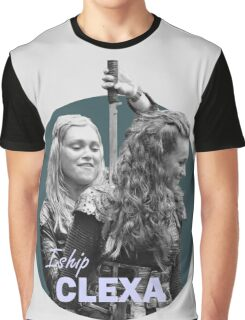 I Ship Clexa - The 100  Graphic T-Shirt