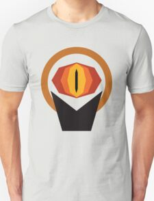 The Lord of the Rings Minimal Art Unisex T-Shirt