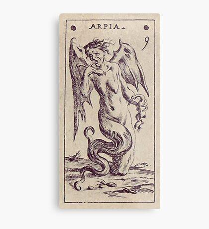 Arpia Tarot Metal Print
