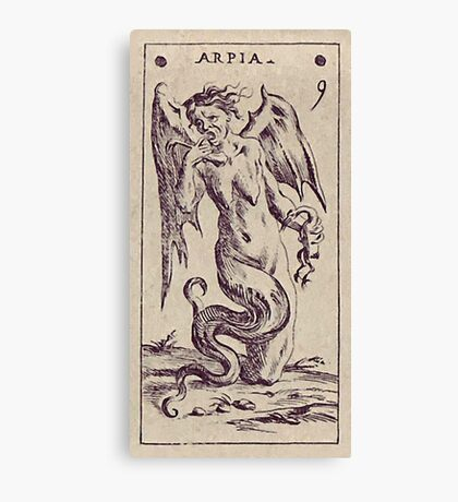 Arpia Tarot Canvas Print