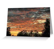 Kununurra Sunrise Greeting Card
