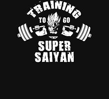 Training To Go Super Saiyan (Goku Squat, Upper) T-Shirt