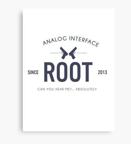 Person of Interest - Root Canvas Print