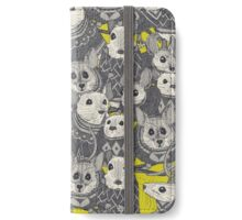 sweater mice chartreuse iPhone Wallet/Case/Skin