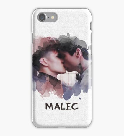 Malec - Shadowhunters - Canvas iPhone Case/Skin