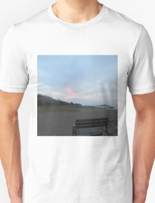 Sit down and look at the view Unisex T-Shirt