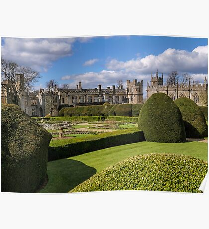 Sudeley Castle near Winchcombe Cotswolds UK Poster
