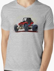 Cartoon Buggy Mens V-Neck T-Shirt
