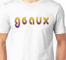 Geaux Purple and Gold Unisex T-Shirt